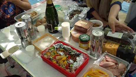 大人のピクニック 最初